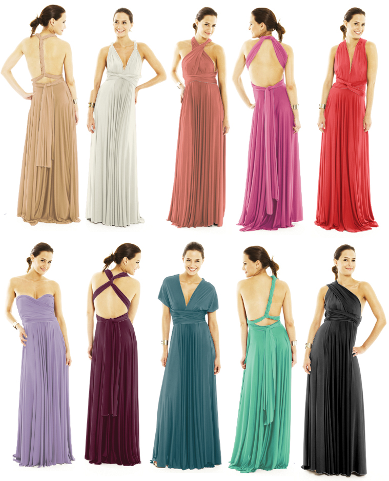 Vestidos para damas de honor gorditas 2019