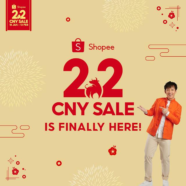 A Niu Year with SHOPEE 2.2 CNY SALE