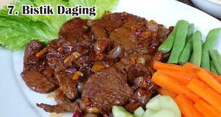 Bistik Daging merupakan salah satu ide menu olahan dari daging kurban khas orang Indonesia