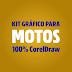 Kit gráfico para motos 100% CorelDraw