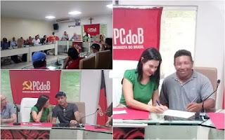 PCdoB realiza encontro em Guarabira e presidenta estadual aprova pré-candidatura de Nêgo de Sansão a prefeito