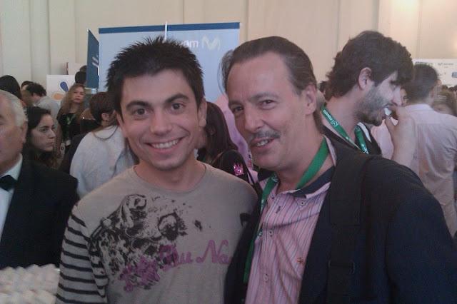 Los SEO del Planeta Habitaquo Javier Lorente  y Jaime Rodríguez Jalón Coincidiendo de nuevo esta vez en Internet es Tuyo 2010