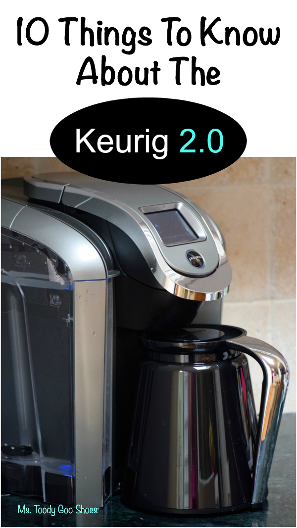 The Scoop on the Keurig 2.0...Ten Things to Know Before You Buy | Ms. Toody Goo Shoes #Keurig