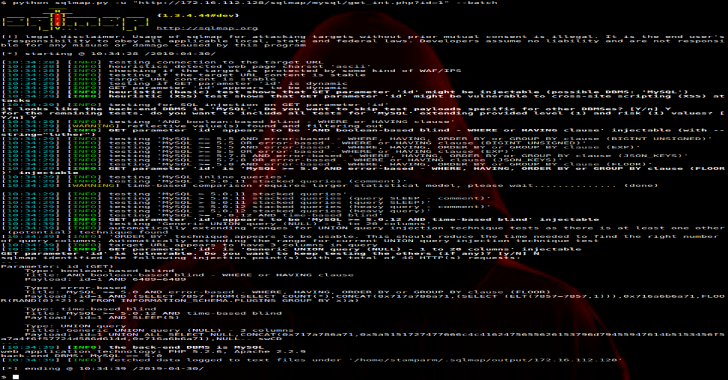 SQLMap : Automatic SQL Injection & Database Takeover Tool