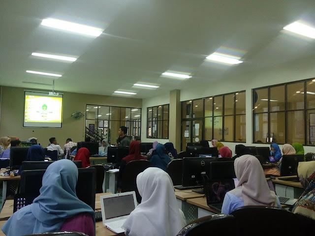 Mahasiswa UIN Ar-Raniry Dibekali Sistem Otomasi Perpustakaan