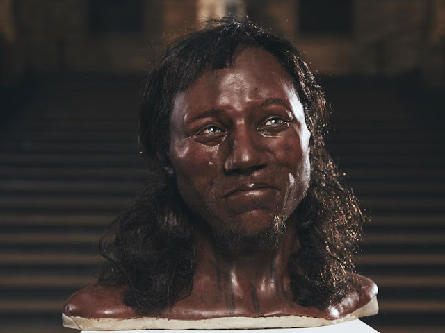 Face of 'Cheddar Man' revealed