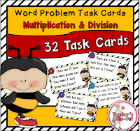 Multiplication and Division Bee Word Problems