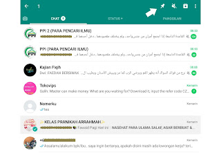 pin chat di whatsapp
