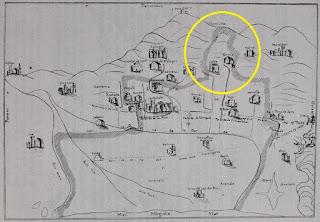 Territorio de Finestrelles en Hospitalet (1723)