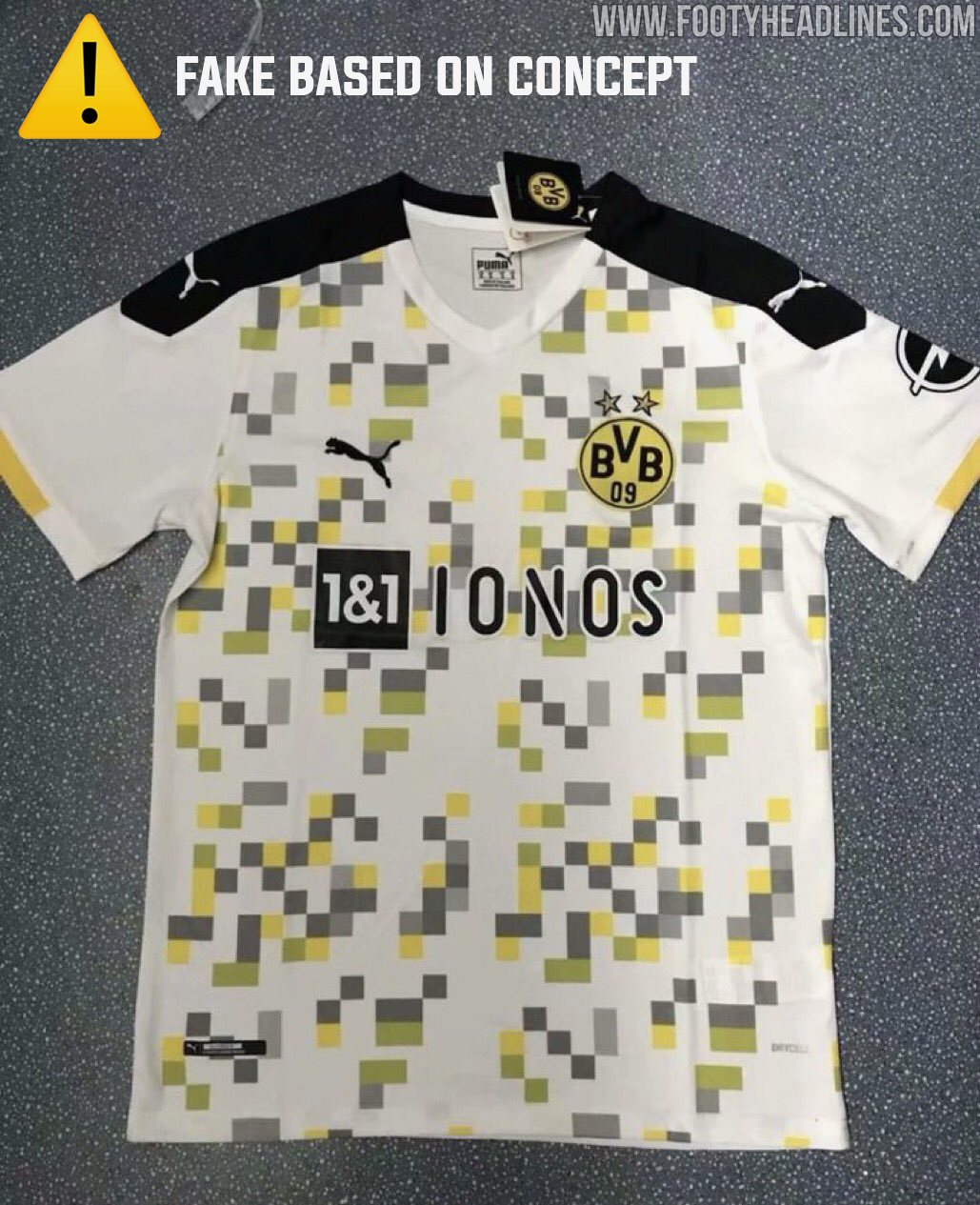 Dortmund 20 21 Third Kit L E A K E D Prediction Footy Headlines