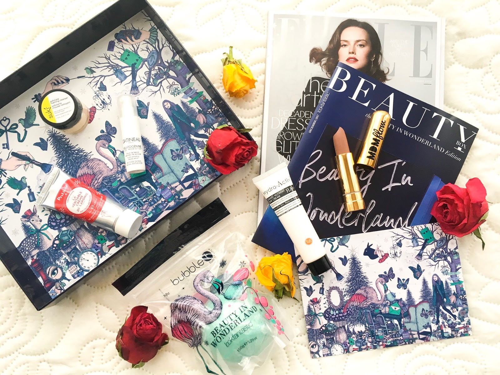 look fantastic beauty box, lfbeautybox, look fantastic beauty in wonderland review,