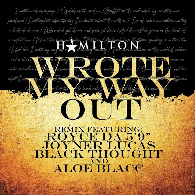 Royce Da 5'9 x Black Thought x Joyner Lucas - Wrote My Way Out