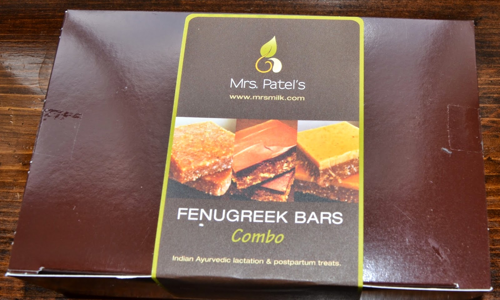 Mrs. Patel's Fenugreek Bars