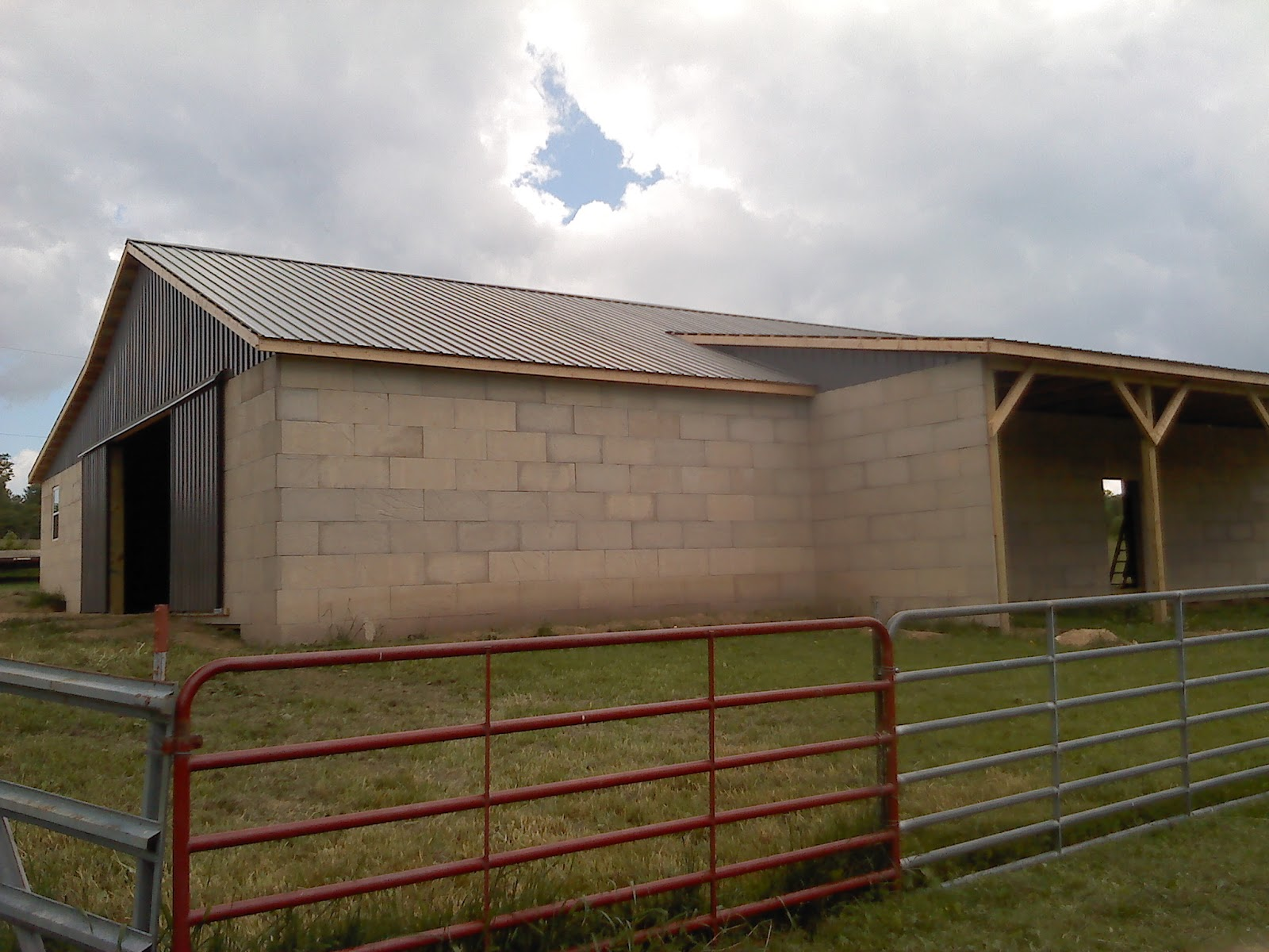 Builderscrete Cellulose Products: A Rustic Hay Barn Using ...