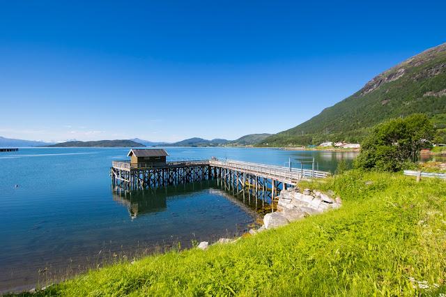 Strada tra Tromso e Narvik-Isole Lofoten