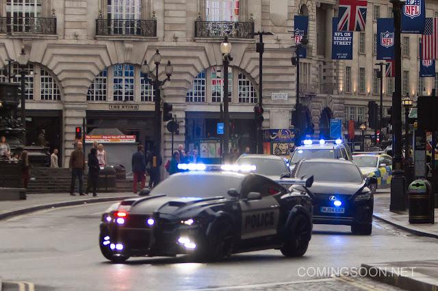 Nuevas fotos del rodaje de 'Transformers: El último caballero' en Londres