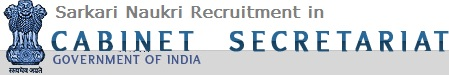 Sarkari Naukri Recruitment in Cabinet Secretariat