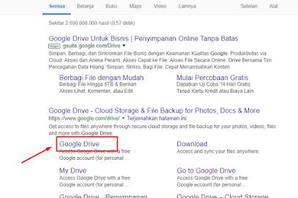 Cara mengatasi Tidak dapat download pada google Drive Karena Kelebihan Limit