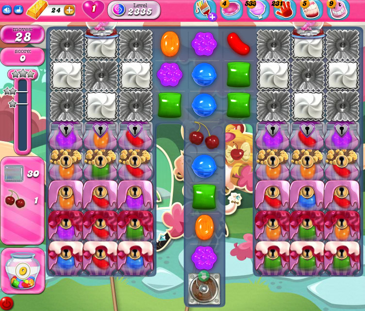 Candy Crush Saga level 2335