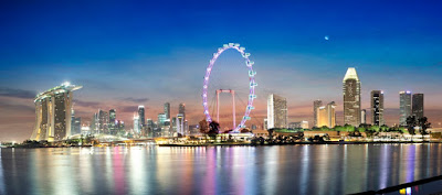wisata singapore flayer