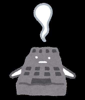 会社のキャラクター(死亡)