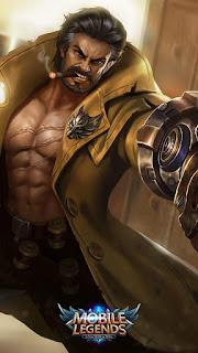 Roger Dire Wolf Hunter Heroes Fighter Marksman of Skins V4