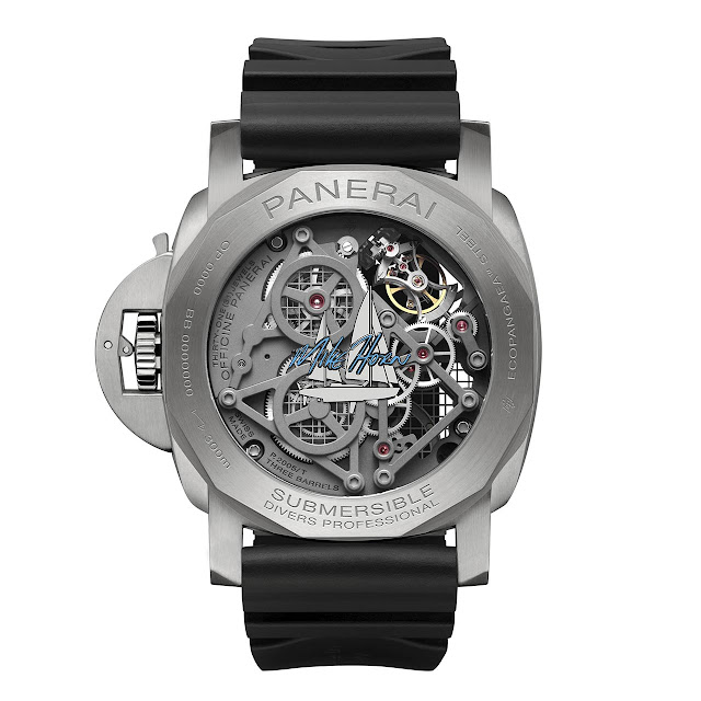 Panerai Submersible EcoPangaea Tourbillon GMT 50 mm Mike Horn Edition PAM01108