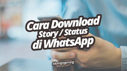Cara Download Story WahtsApp di Android