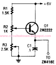 Simple +1.5V Supply For Zn416E Circuits Diagram