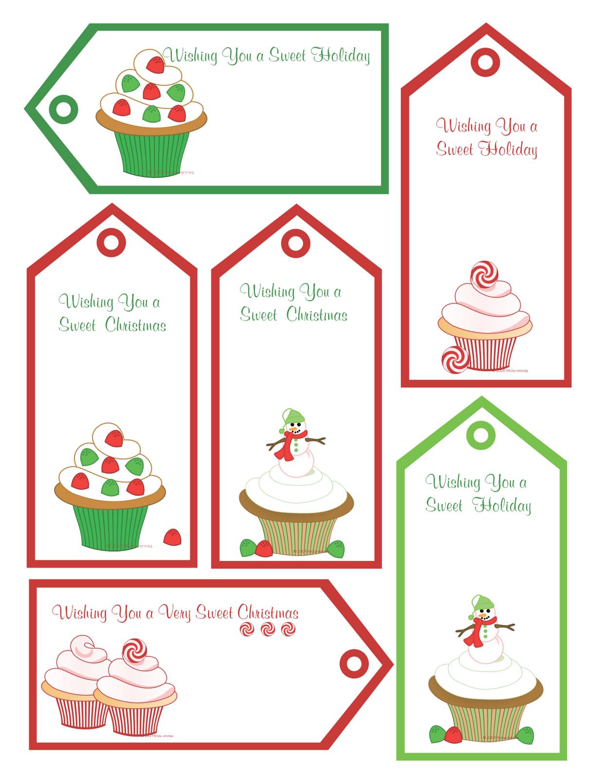 FREE Christmas Printables, Gift Tags & Homemade Gift Ideas