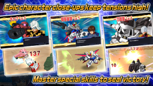 SD GUNDAM STRIKERS Apk v1.5.5 (Mod Damage & Attack)