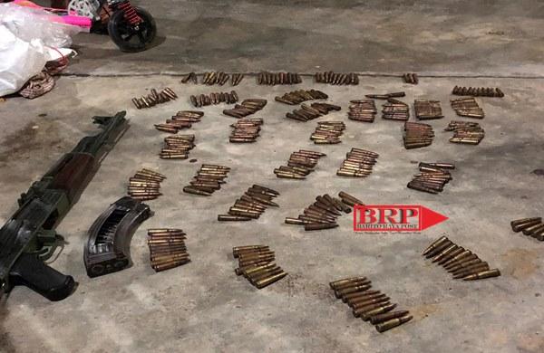 Tim Gabungan Polda Aceh Berhasil Sita Senpi Dan 300 Butir Peluru