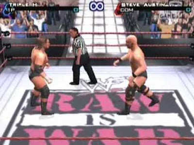 "''WWF SmackDown! Just Bring It!"" per Playstation 2"