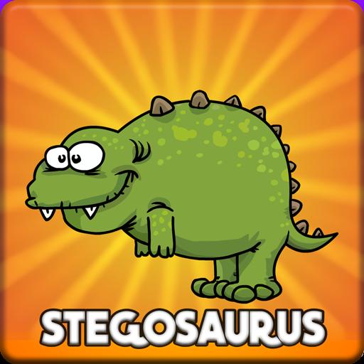 Baby Stegosaurus Escape