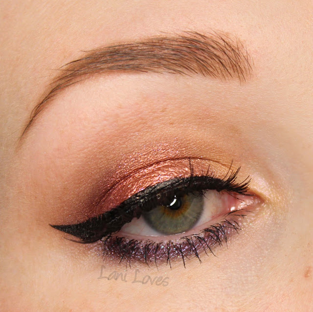 Darling Girl Eyeshadows - Trek the Halls, Ginger, Tatti-Too Swatches & Review
