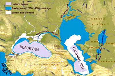 13 Ancient Things that don't make sense in History - Black Caspian Sea