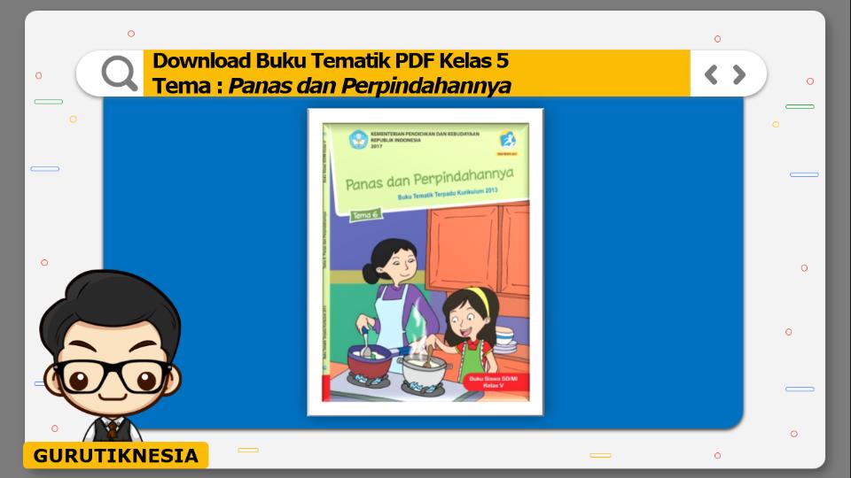 download gratis buku tematik pdf kelas 5 tema panas dan perpindahannya
