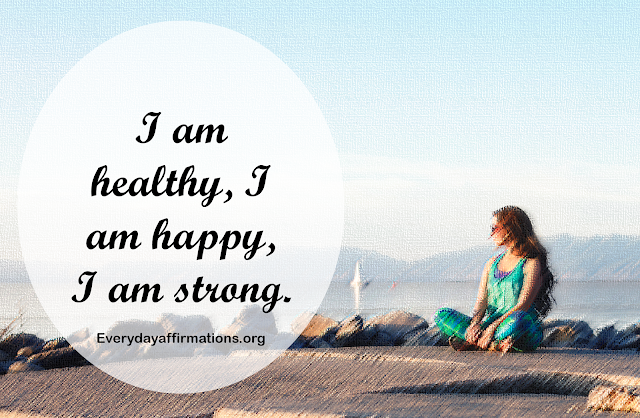 Daily Affirmations, Affirmations for Health, Affirmations for Women