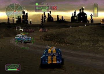 تحميل لعبه السيارات الحربيه vigilante 8