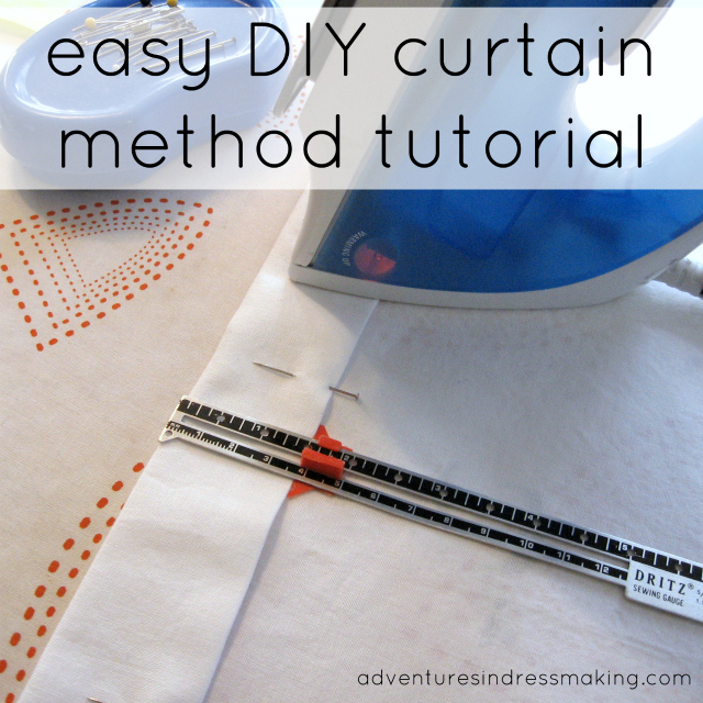 My Easy Curtain Method Tutorial / Create / Enjoy