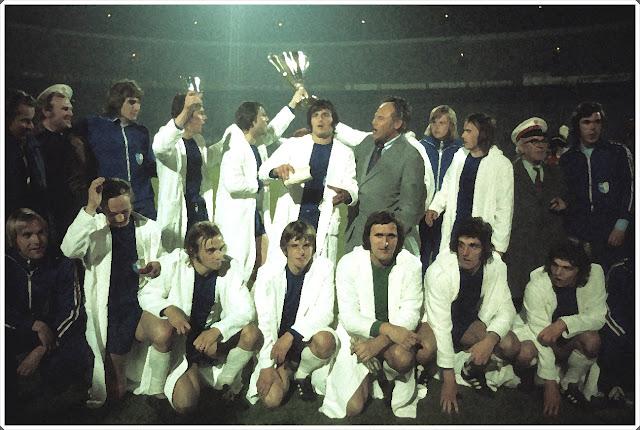 Magdeburg European Winners Cup 1974 Recopa