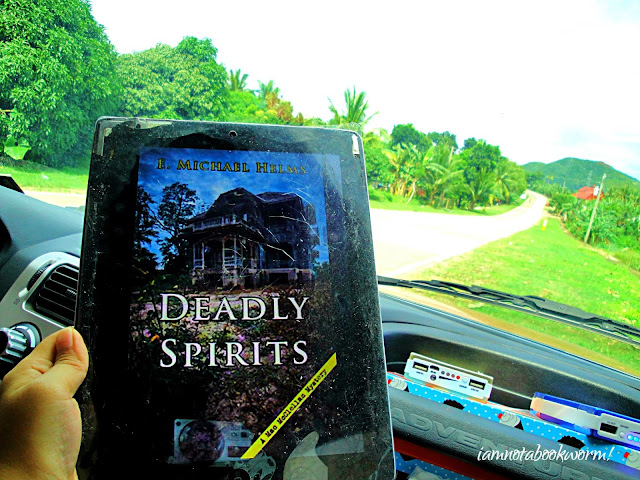Deadly Spirits (A Mac McClellan Mystery) by E. Michael Helms | A Book Review by iamnotabookworm!