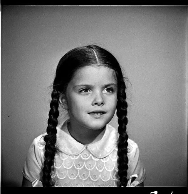 Lisa Loring as Wednesday, 'The Addams Family' Cast Portrait Session, 1964