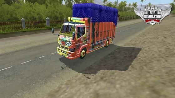 mod truk canter anti gosip muat semen