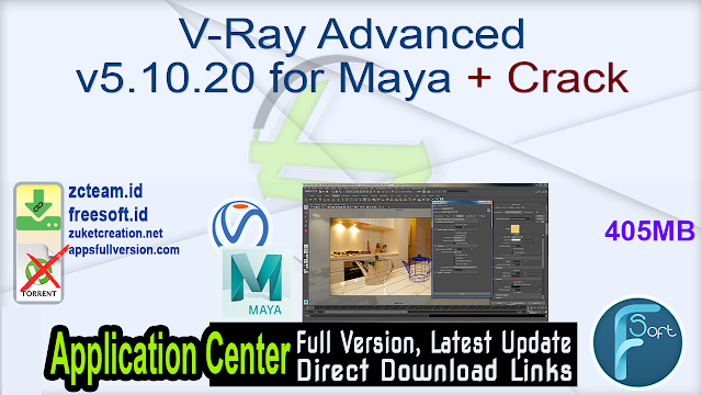 V-Ray Advanced v5.10.20 for Maya + Crack_ ZcTeam.id