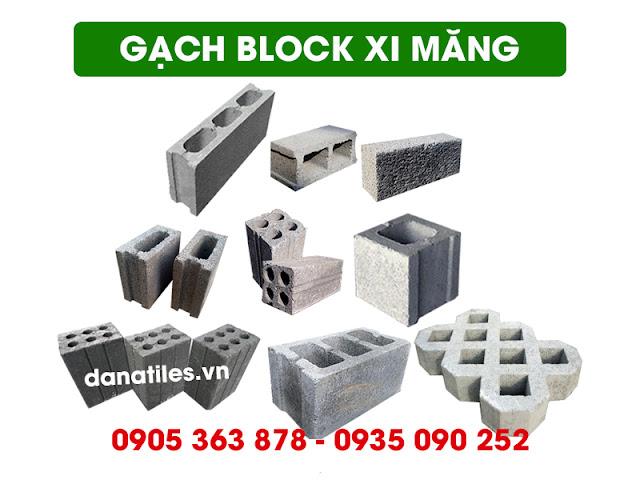 Gạch block xi măng không nung