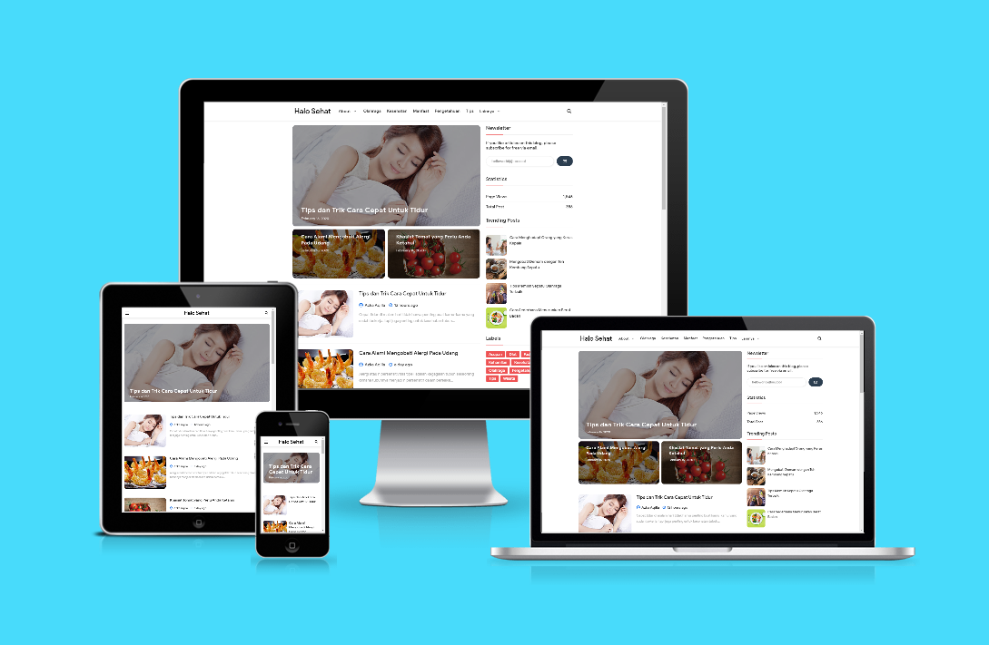 New Up Origin of SEO Responsive Blogger Template