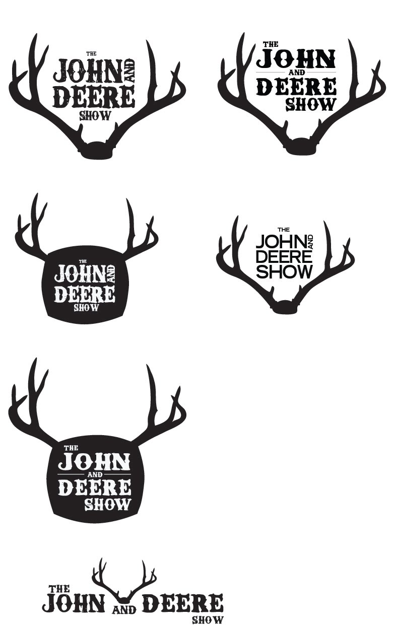 Integrated Concepts: The John and Deere Show logos