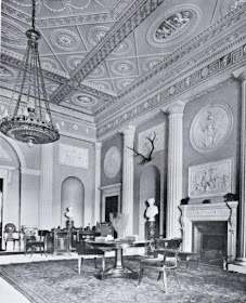 Entrance Hall, Harewood House, from    The Architecture of Robert and James Adam by AT Bolton (1922)