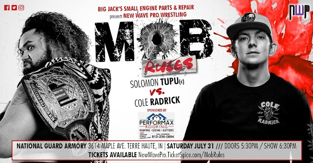 """Indie Wrestling Newswire: """"Mob Rules"""" from New Wave Pro"""